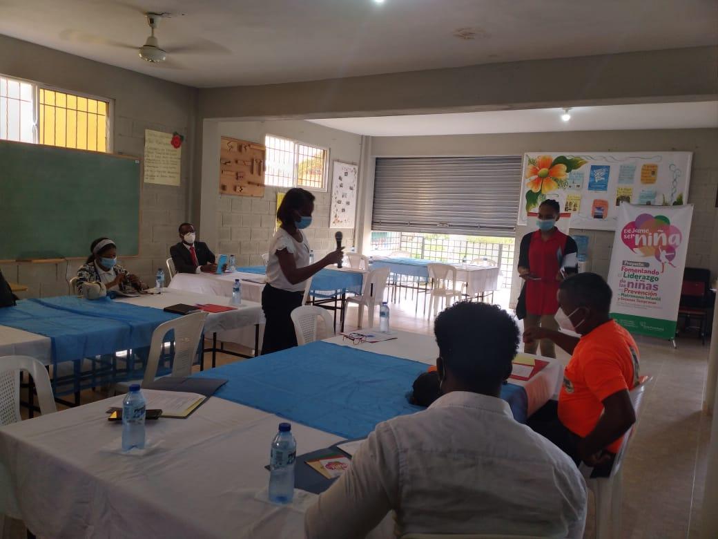 , Empoderan organizaciones sociales sobre proyecto para Prevención de Matrimonio Infantil y Uniones Tempranas