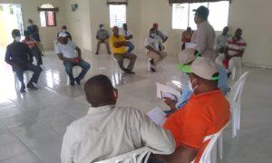 DGDF realiza levantamientos en comunidades de Cristóbal, Batey Ocho y otras comunidades de la zona cañera