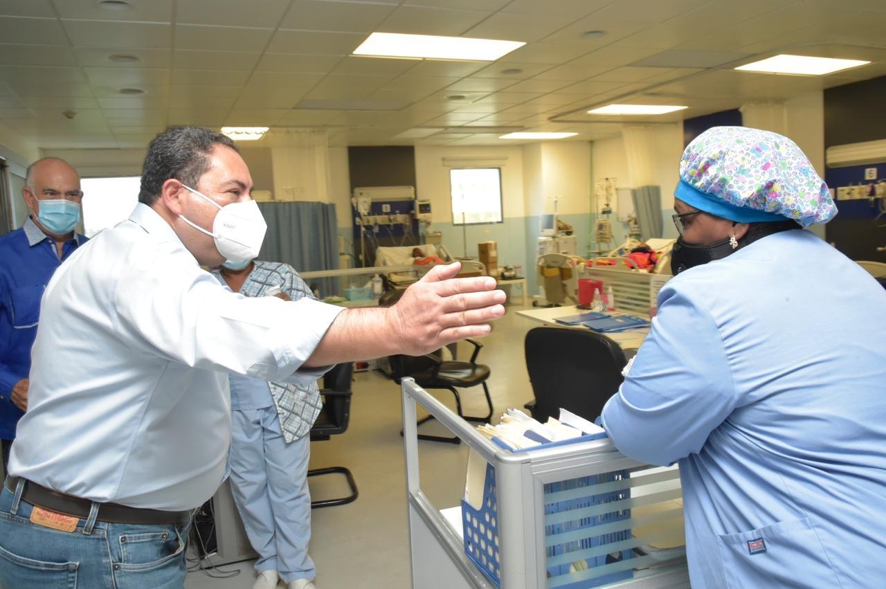 , Director SNS supervisa hospitales del Gran Santo Domingo