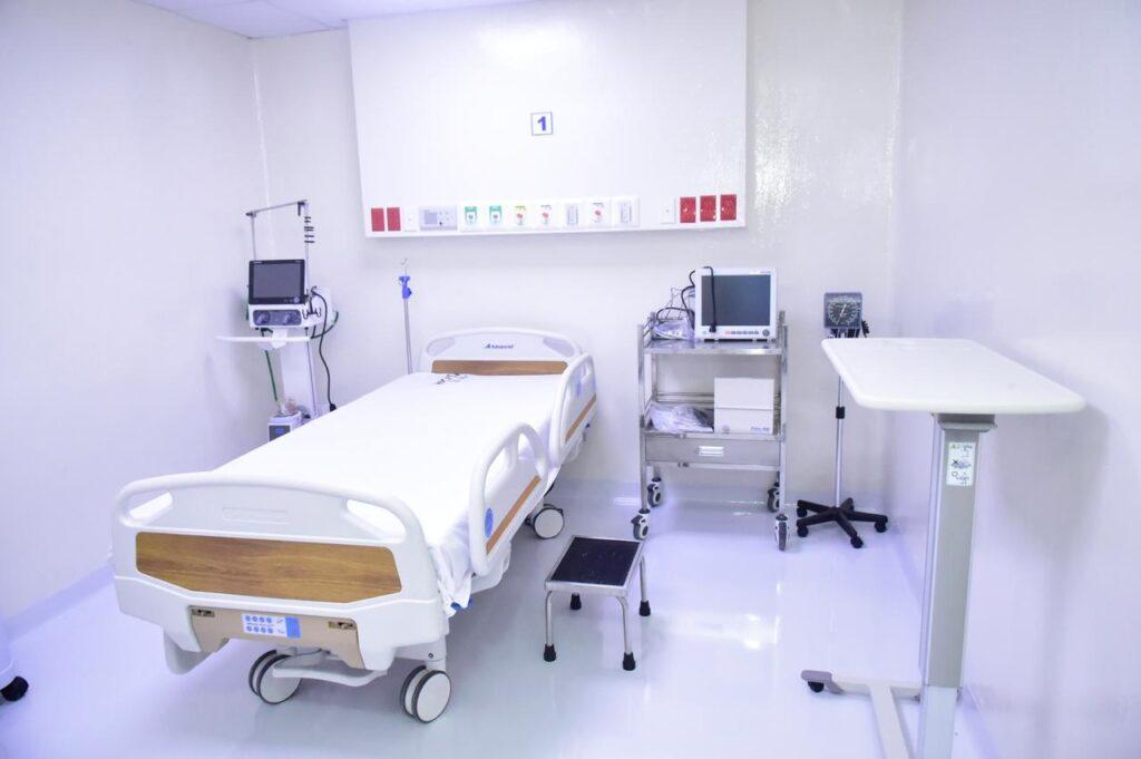 , SNS pone en funcionamiento moderna área COVID-19 en hospital Robert Reid