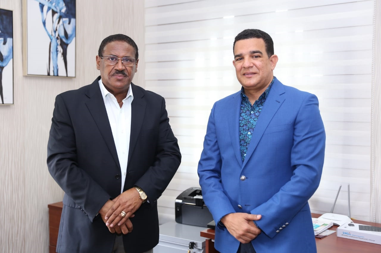 , Director SRSM recibe visita empresario Richard Ortiz
