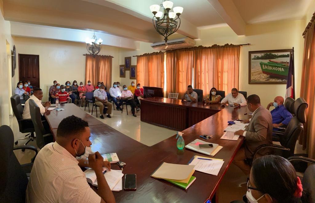 , Ayuntamiento de Barahona realiza cabildo abierto
