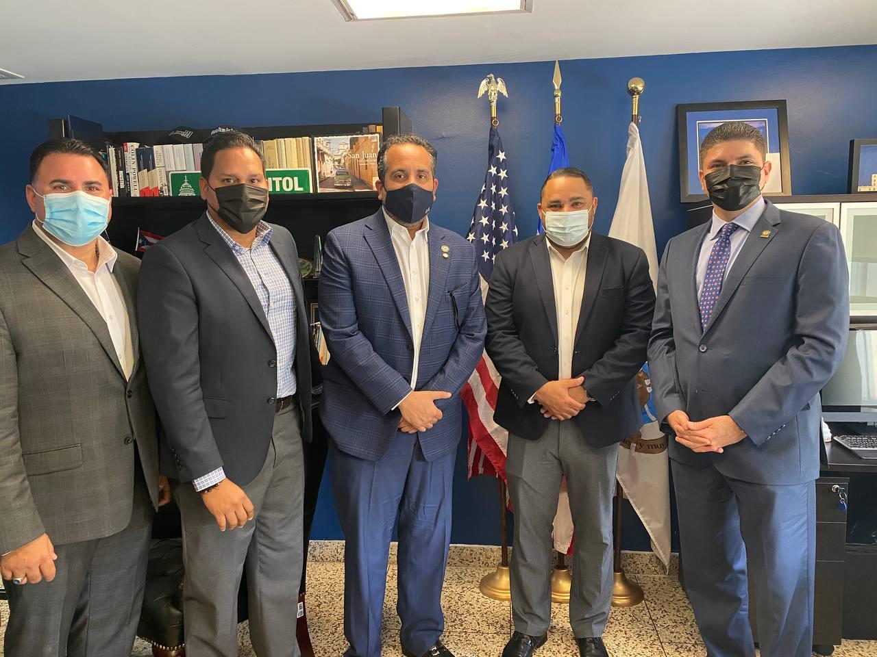 , Viceministro Alberto Rodríguez agota agenda con funcionarios del gobierno de Puerto Rico