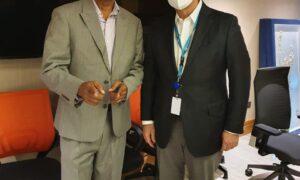 Aspirante a miembro del Comité Central se reúne con Gonzalo Castillo