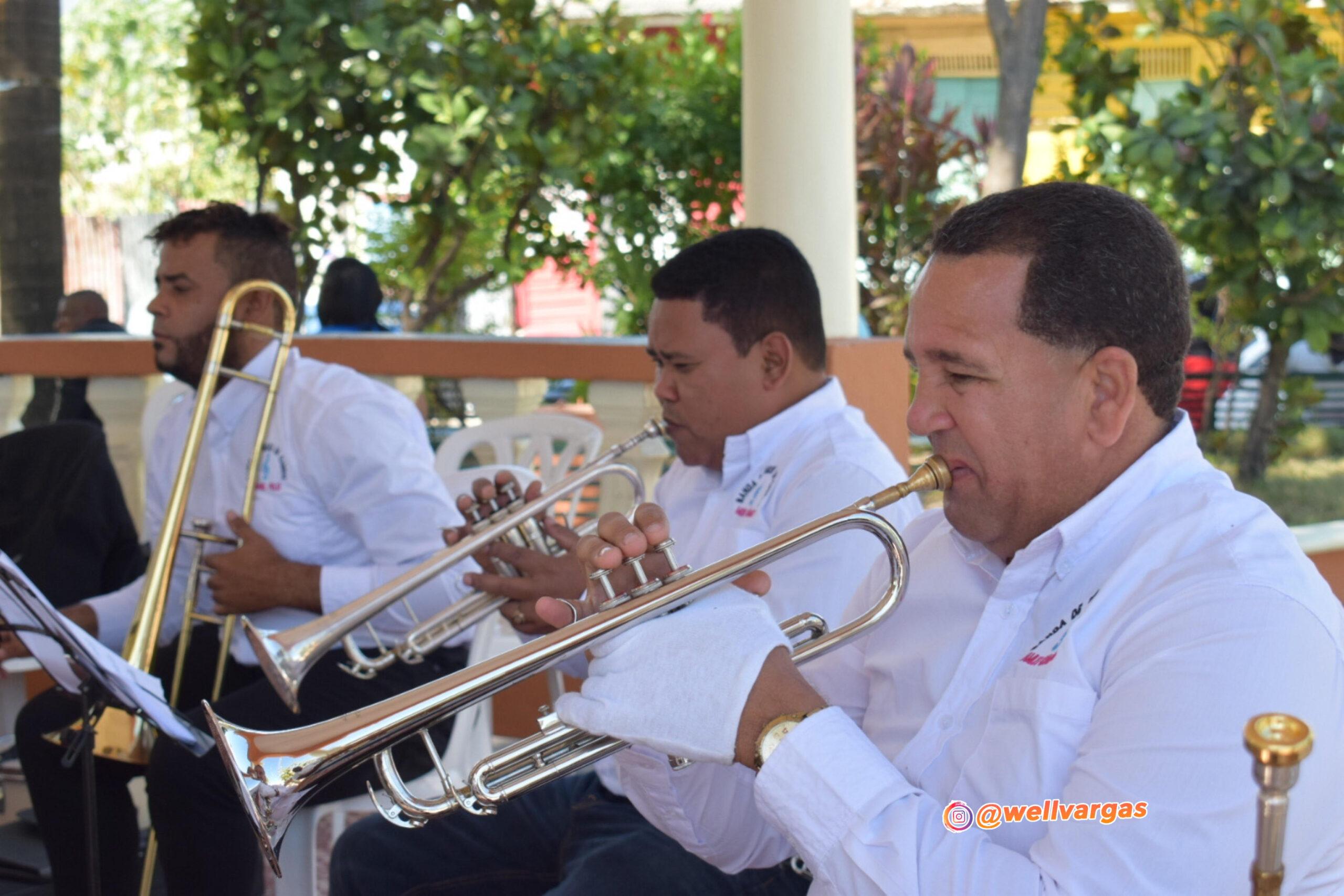 , Banda musical de Cabral realiza concierto de independencia