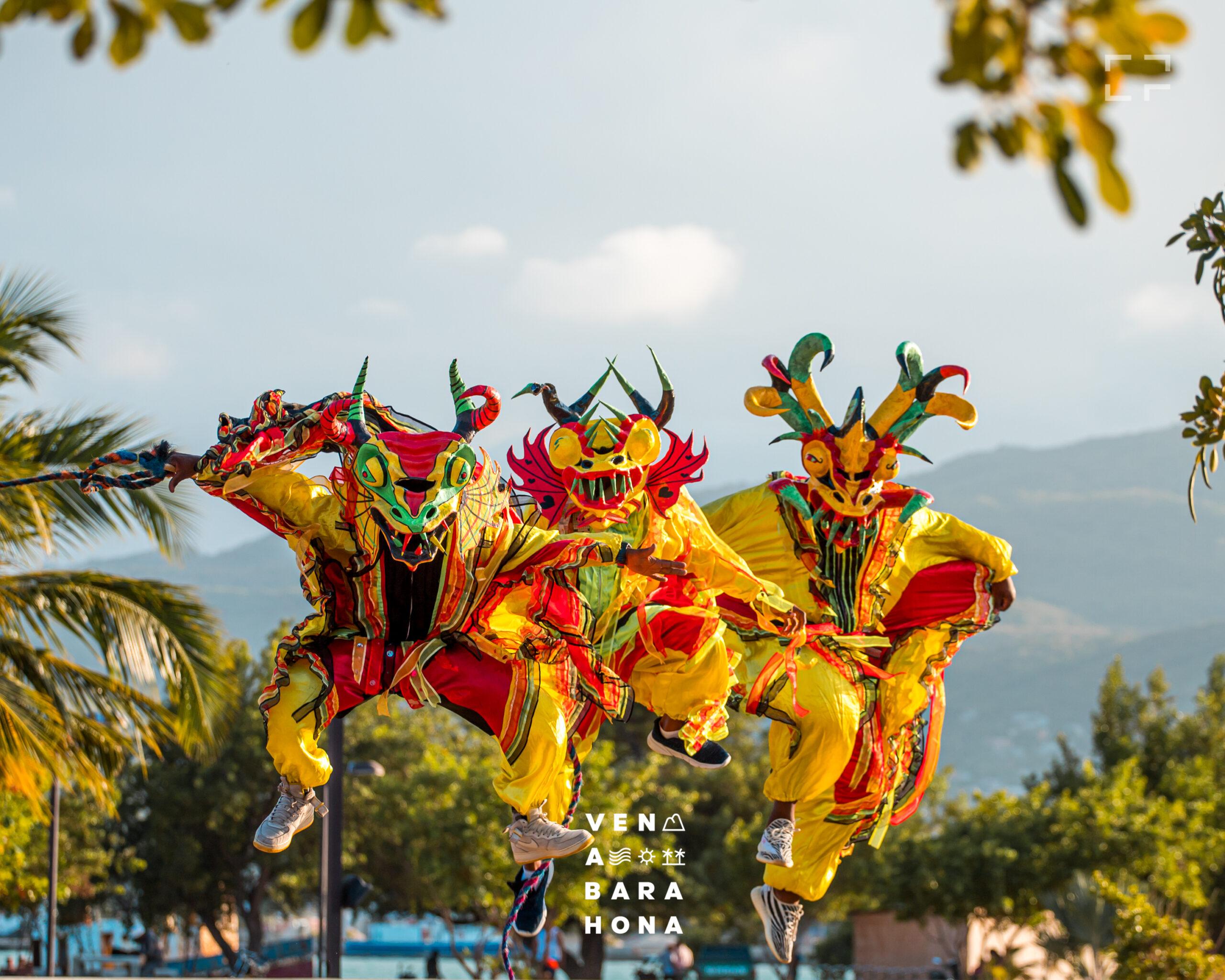, Barahona Realizó su Carnaval de forma virtual