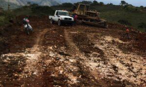 , Avanzan trabajos de rehabilitación en zonas agrícolas en Independencia
