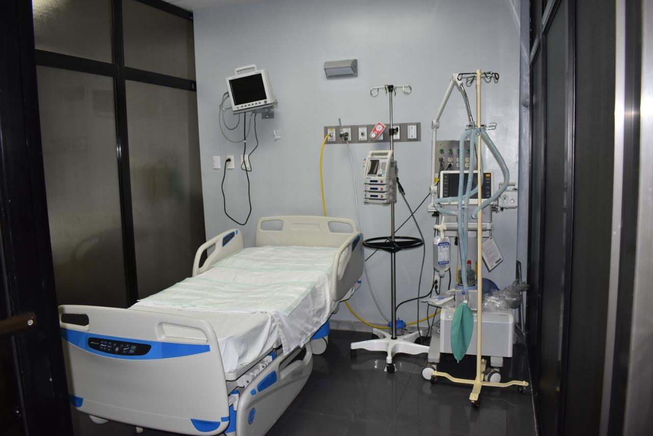 , Gobierno amplía a 49 cantidad de camas COVID-19 en Hospital de la Policía