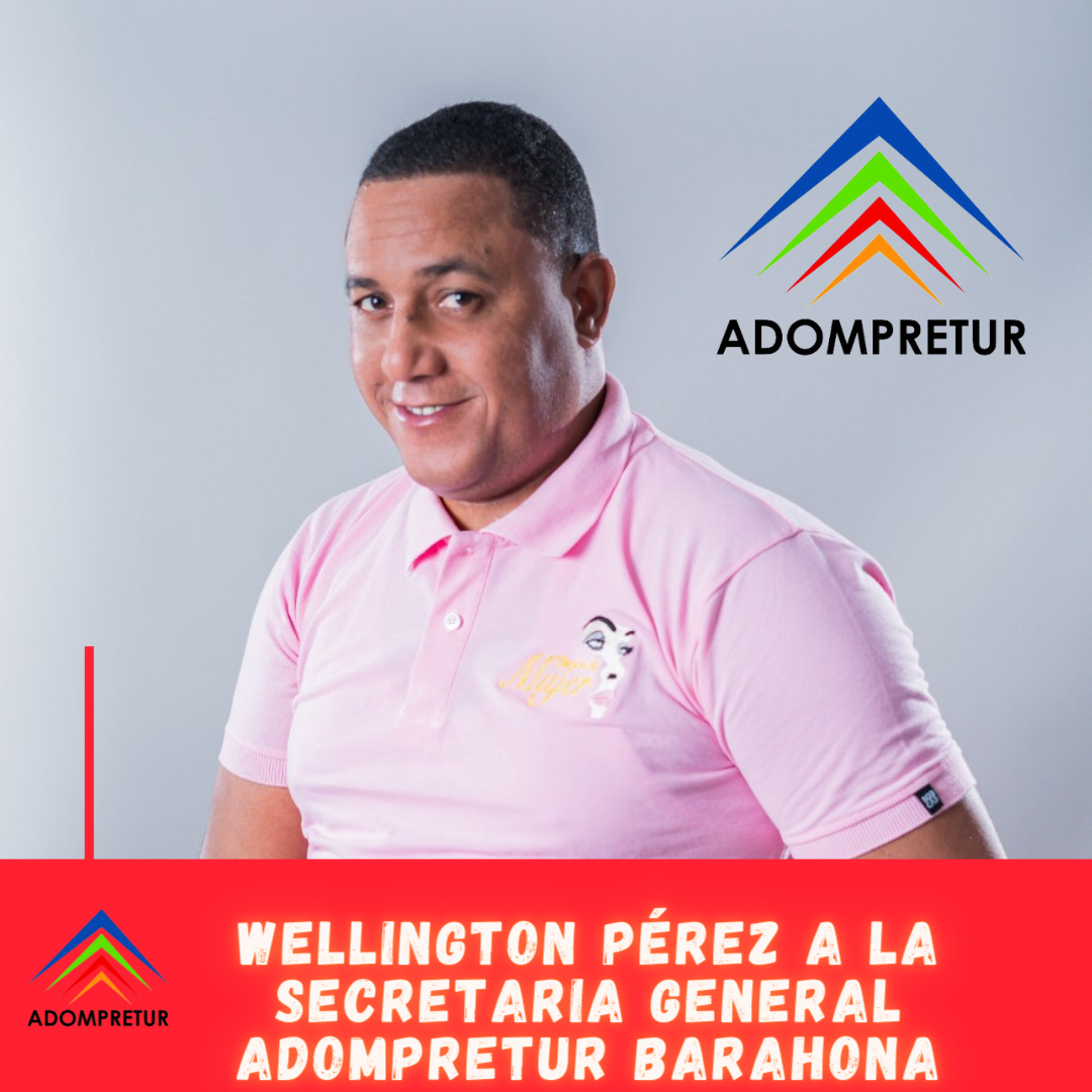 , Wellington Pérez Vargas aspirante a secretario general de ADOMPRETUR Barahona.