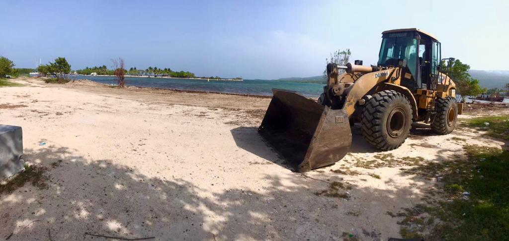 , CAC rehabilita acceso a la playa de escuela de Vela