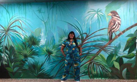, Cromcin Domínguez, Pionera en el arte público como herramienta de mejora social y arte sostenible
