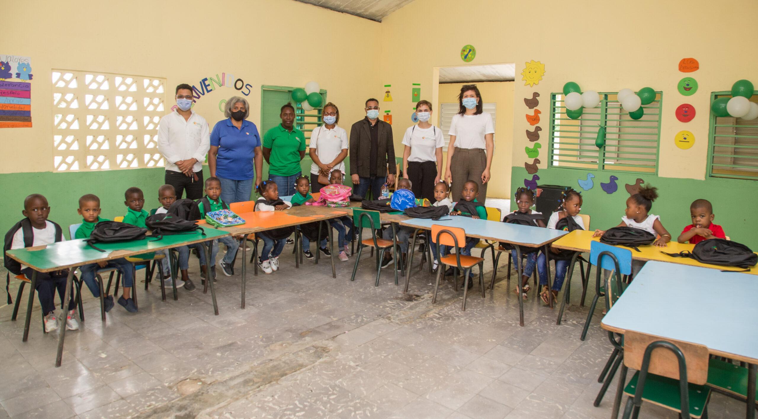 , Vuelve la alegría a las zonas cañeras por la apertura del nuevo año escolar 2021-2022